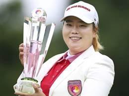 안선주, 닛폰햄 클래식 우승…JLPGA 한국인 최다 우승 기록